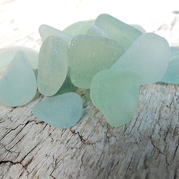 Sea Foam Sea Glass Pieces Small Selection by TerryArts