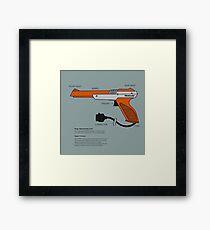 Nes Zapper Shoot them! Framed Print