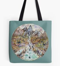 sketch of fairy pools Tote Bag