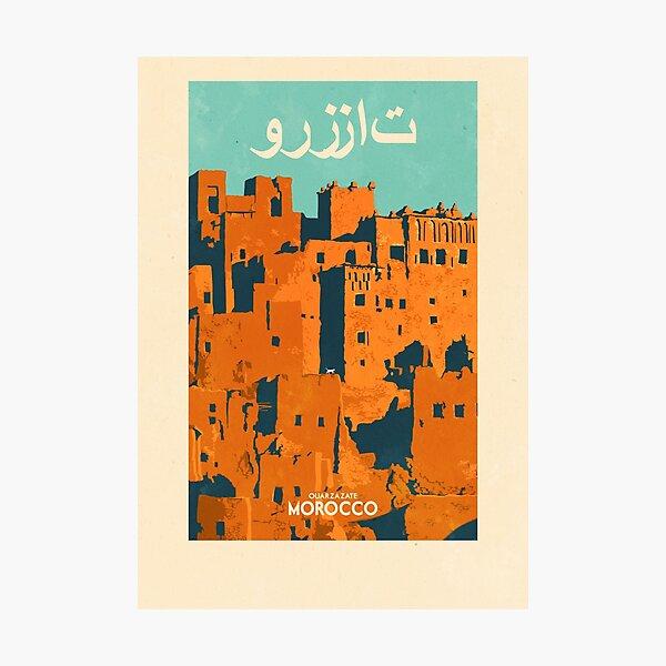 Travel Posters - Ouarzazate Morocco Photographic Print