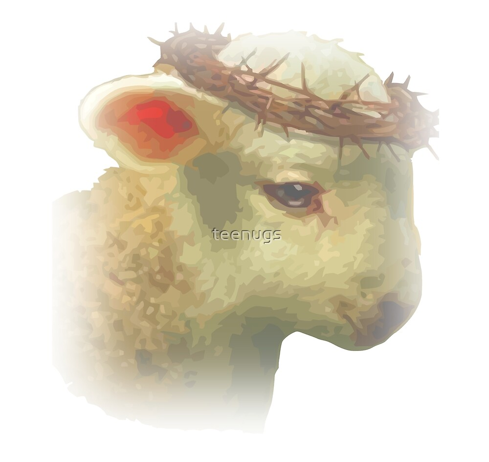Jesus Christ Lamb of God John 1 29 Christian Art\