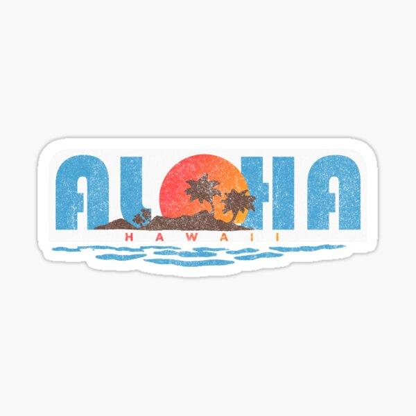 Aloha Hawaii Pegatina
