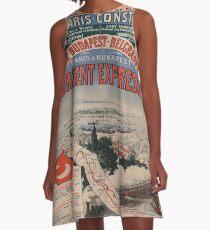 Vintage poster - Orient Express A-Line Dress