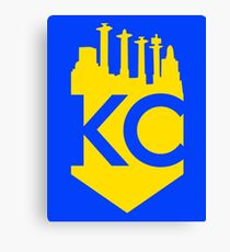KC Skyline Crown Canvas Print
