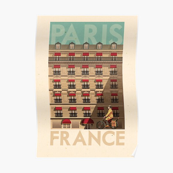 Travel Posters - Paris France Poster