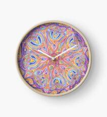 knotwork mandala Clock
