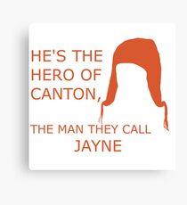 Hero of Canton Canvas Print