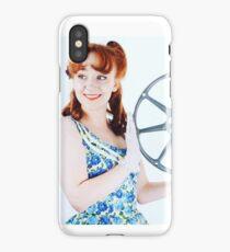 1950s Cinema Girl retro pinup iPhone Case