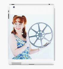 1950s Cinema Girl retro pinup iPad Case/Skin