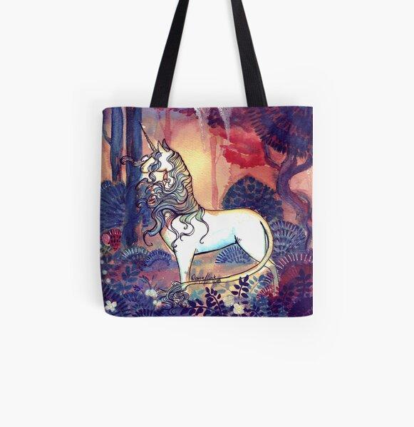 The last Unicorn All Over Print Tote Bag