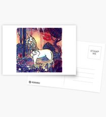 The last Unicorn Postcards