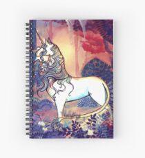 Cuaderno de espiral El ultimo unicornio