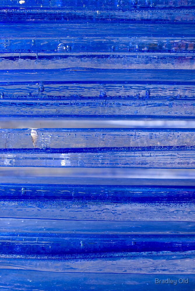 Cool Glass Blue by Bradley Old