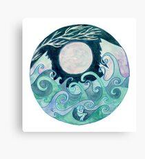 stormy Mandala Canvas Print