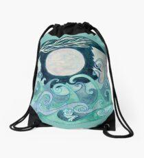 stormy Mandala Drawstring Bag