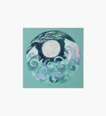stormy Mandala Art Board