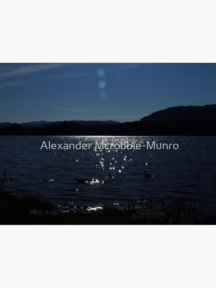 Blue  Sparkle by Alexanderargyll