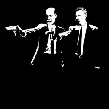 Freud and Nietzsche as God Killers by The-Nerd-Shirt