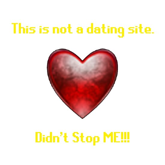 Dies ist keine Dating-Website