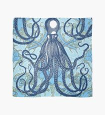 Antique Octopus with William Morris Wallpaper Scarf