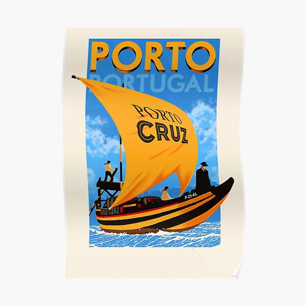 Travel Posters - Porto Portugal Poster
