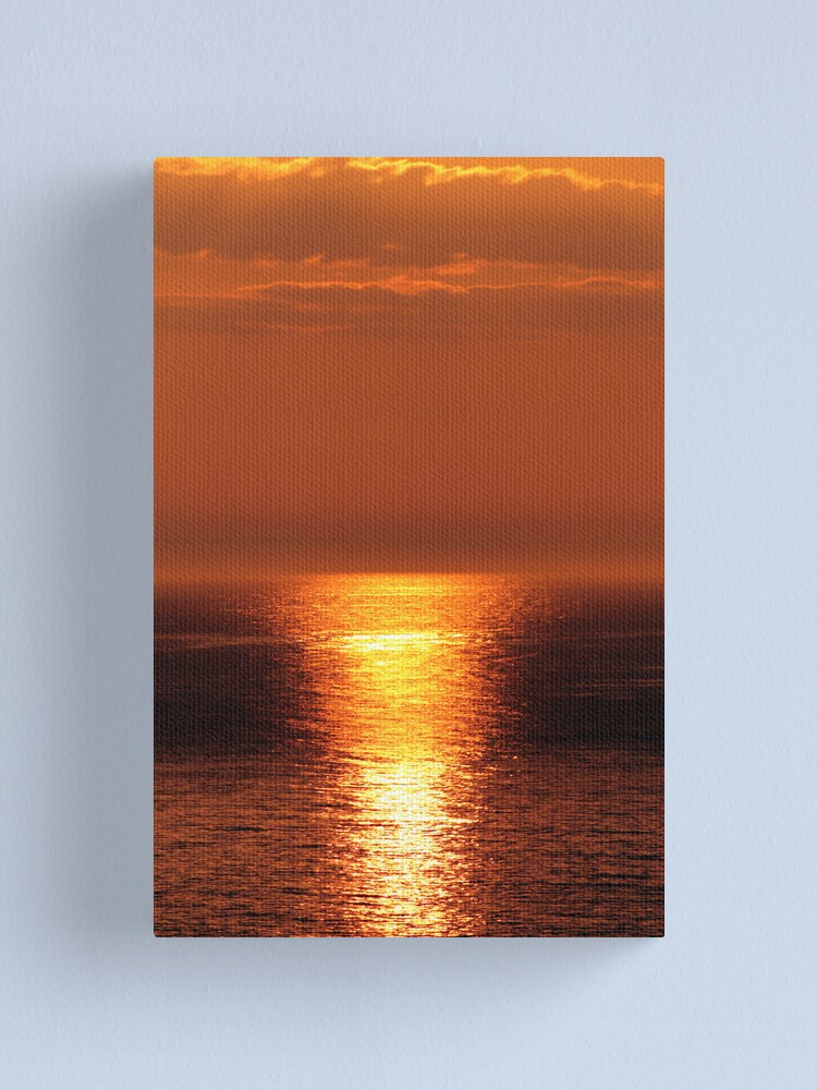 Alternate view of Liquid Gold Canvas Print