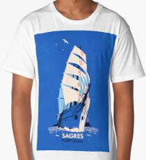 Travel Posters - Sagres Portugal Long T-Shirt