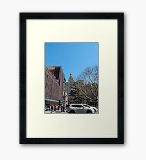 New York City, New York, Brooklyn, Manhattan, building, house, skyscraper Framed Print