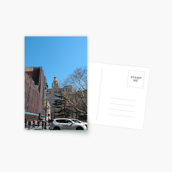 New York City, New York, Brooklyn, Manhattan, building, house, skyscraper Postcard