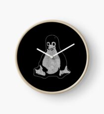 Linux Penguin Clock