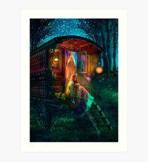 Gypsy Firefly Art Print