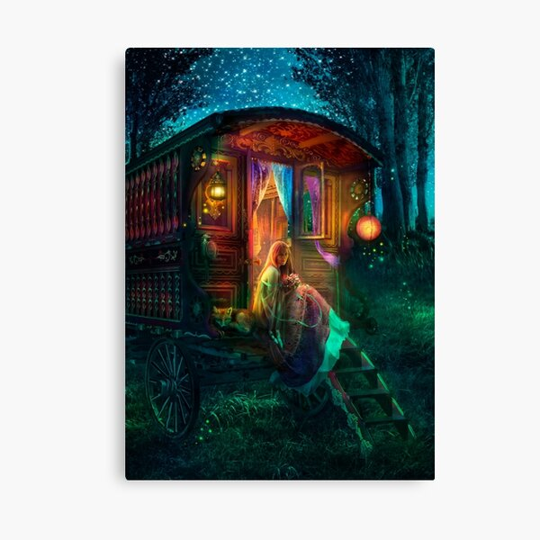 Gypsy Firefly Canvas Print