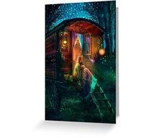 Gypsy Firefly Greeting Card