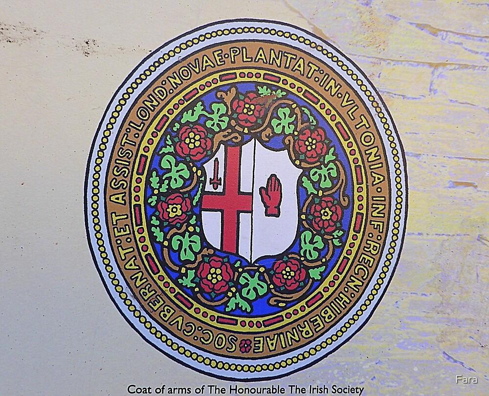 The Irish Society Coat Of Arms..................Derry by Fara