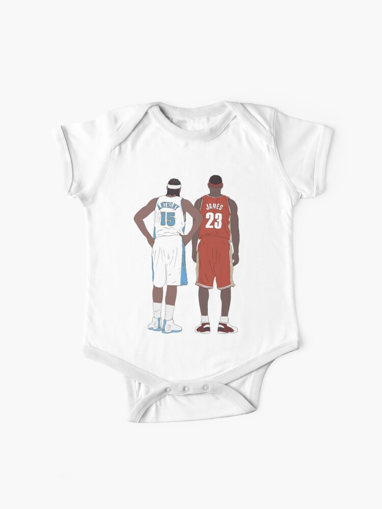 pick up ae061 36a00 Young LeBron James And Carmelo Anthony | Baby One-Pieces