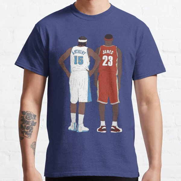 Young LeBron James And Carmelo Anthony Classic T-Shirt