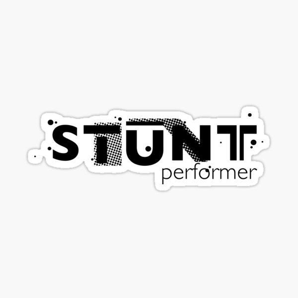 Film Crew. STUNT performer Sticker
