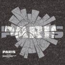 Paris Map von UrbanizedShirts