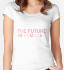 The Future is Me, The Future is Female Women's Fitted Scoop T-Shirt