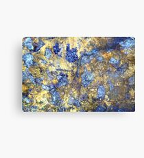 Colors in Stone Abstract Metal Print