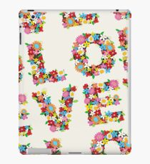 LOVE Spring Flowers | Red iPad Case/Skin
