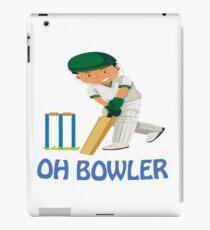 Cricket Batter iPad Case/Skin