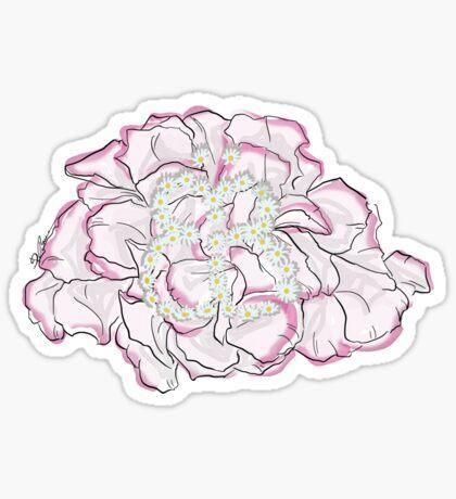 Schmetterlingsblume Sticker