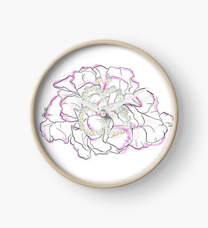 Schmetterlingsblume Uhr
