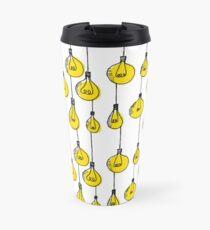 light bulb design Travel Mug