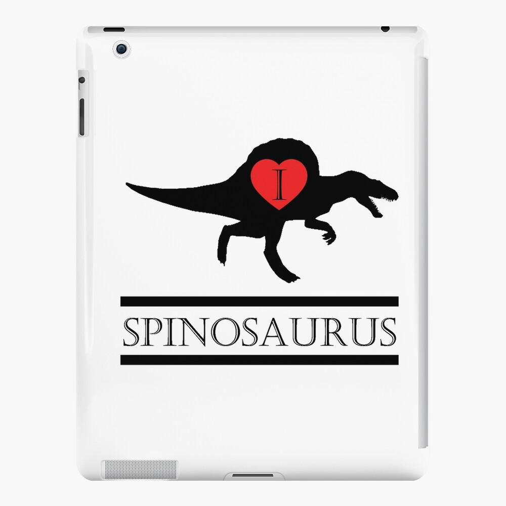 I Heart Spinosaurus Funda y vinilo para iPad