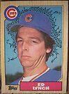 385 - Ed Lynch by Foob's Baseball Cards
