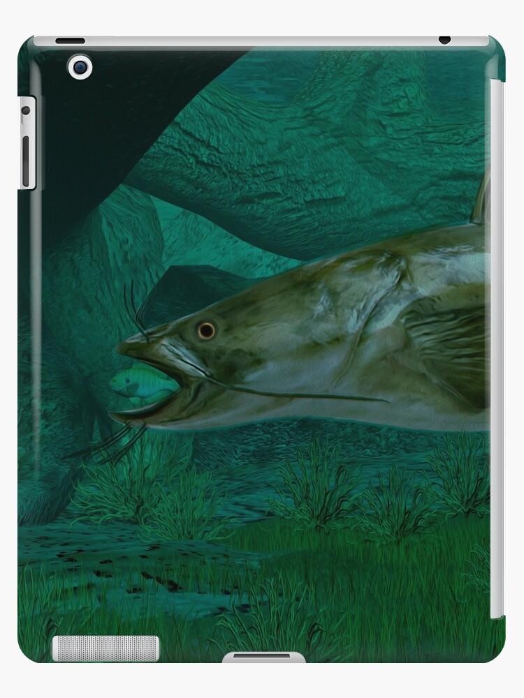 Flathead Catfish Ipad Cases Skins By Walter Colvin Redbubble