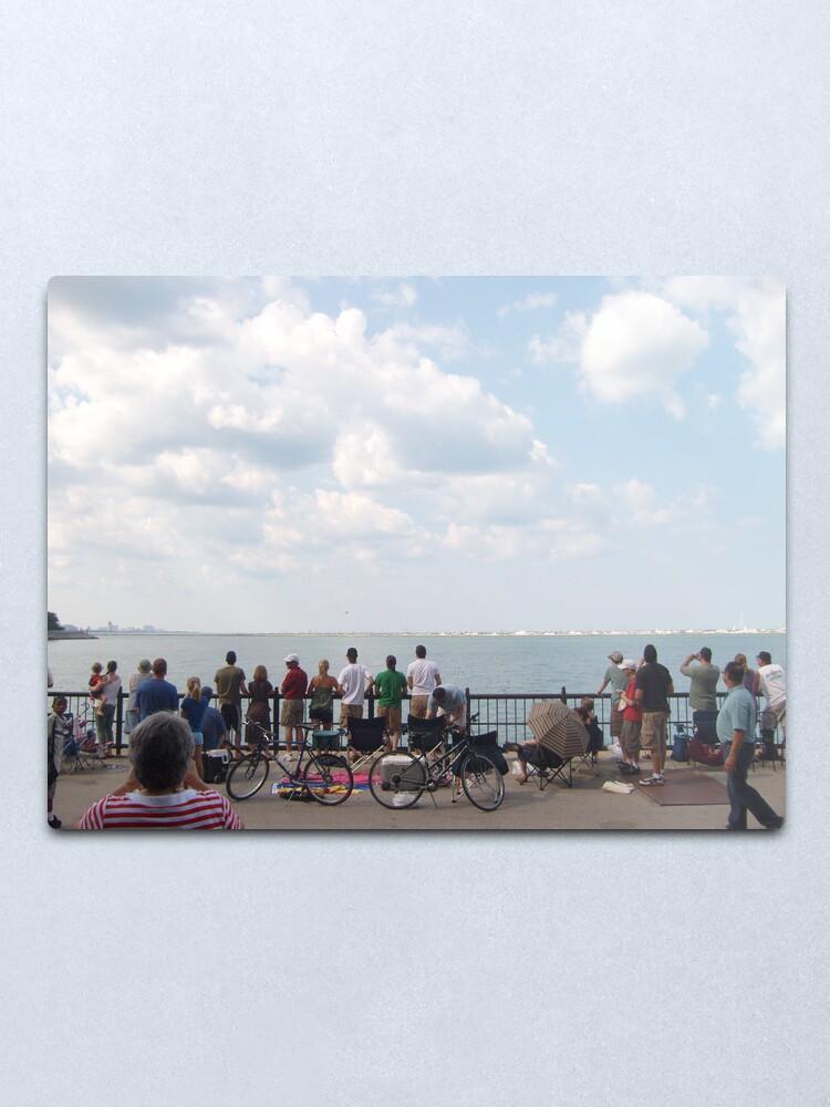 Alternate view of Navy Pier Metal Print