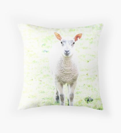 Who's that mum? Throw Pillow